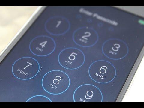 Hack iPhone Passcode lock
