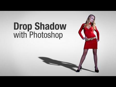 Drop Shadow Effect in Photoshop   TUTORIAL