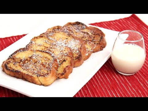 Eggnog French Toast Recipe - Laura Vitale - Laura in the Kitchen Episode 856