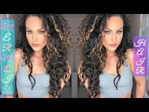 HOW TO BLEND EXTENSIONS WITH CURLY HAIR | The Glam Belle