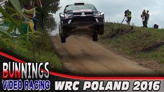 WRC Rally Poland 2016 - @BunningsVideo