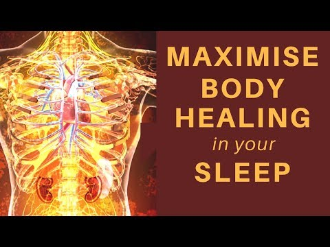 HEAL while you SLEEP ★ Manifest Full Body Healing ★ Influence Cells ★ Pain Relief Guided Meditation