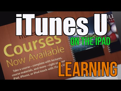 Learning with iTunes U on the iPad