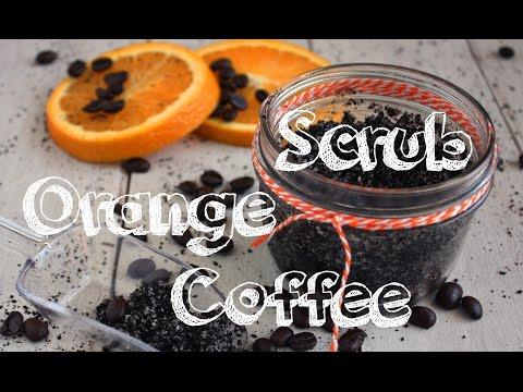 DIY Sweet Orange Coffee Scrub: Tighten & Tone