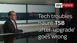 TSB takes down digital services after upgrade fail