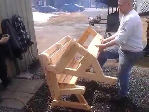 Folding Picnic Table Combi
