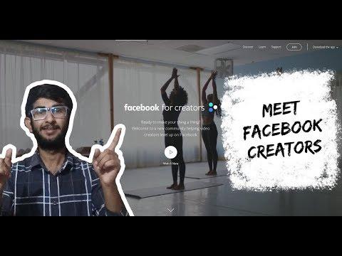 Meet Facebook Creator - Earn Money From Facebook