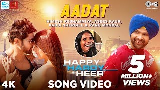 Aadat Official Song - Happy Hardy And Heer |Himesh Reshammiya,Ranu Mondal,Asees Kaur,Rabbi Shergill