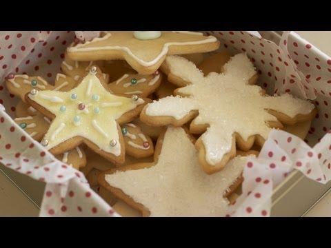 Holiday Decorated Sugar Cookies Recipe || KIN EATS