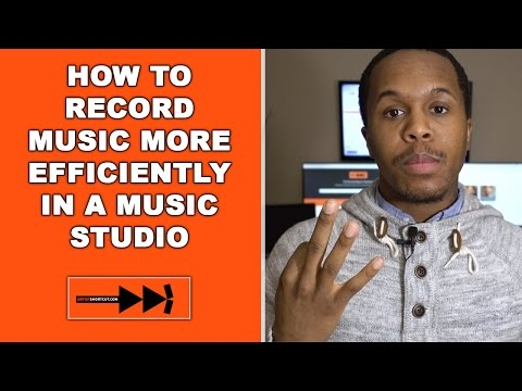How To Record Music More Effeciently In A Music Studio