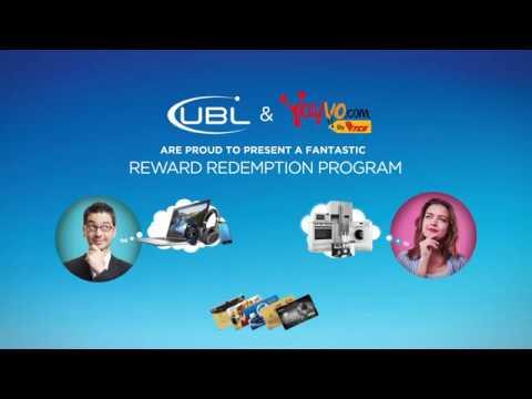 UBL & Yayvo.com Presents Reward Redemption Program!