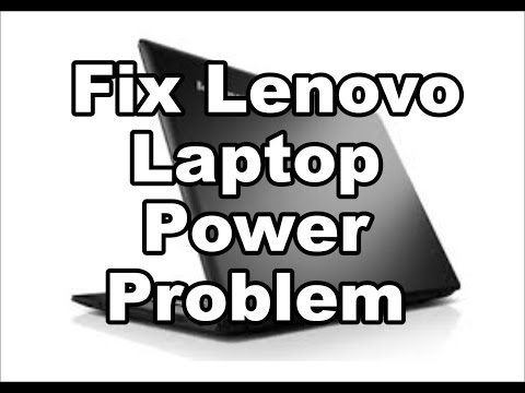 How to fix Lenovo laptop power problem repair how-to guide