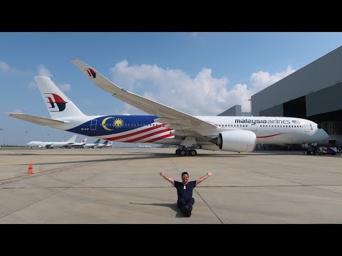 The Complete Review of Malaysia Airlines A350 London to Kuala Lumpur