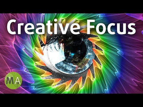 Creative Focus (Hybrid) Study Music Aid For Creativity - Isochronic Tones