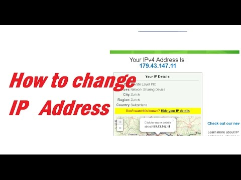 How to change your ip address : Hack Tech