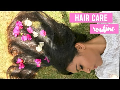 My Hair Care Routine \ For Oily Scalp and Fine Dry Hair