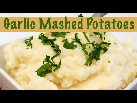 How to Make Roasted Garlic Creamy Mashed Potatoes | The Frugal Chef