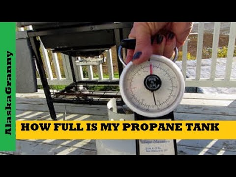 Propane Tanks How To Tell How Full They Are