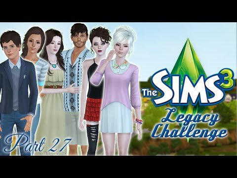 Let's Play the Sims 3 Han Legacy Challenge! Part 27: Game Day