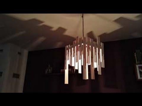 Making wooden lamp