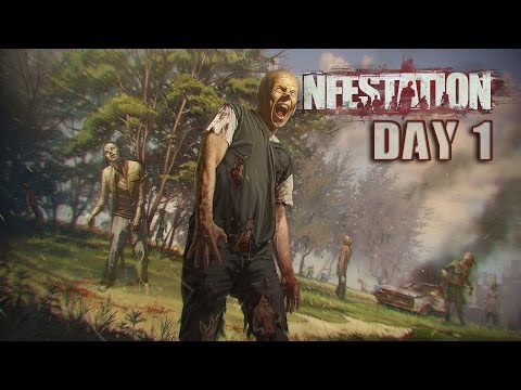Infestation: The New Z | Exploring/Looting/Zombies | Day 1