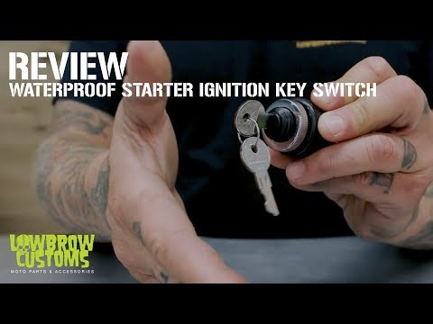 Lowbrow Customs Weatherproof Starter Ignition Key Switch for Custom Motorcycles - Review