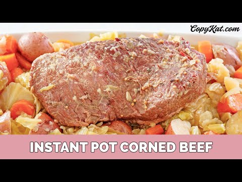 How to Make Corned Beef in an Instant Pot