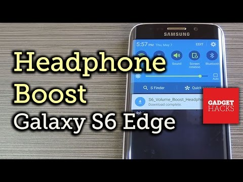 Boost Headphone Volume on Your Samsung Galaxy S6 Edge [How-To]