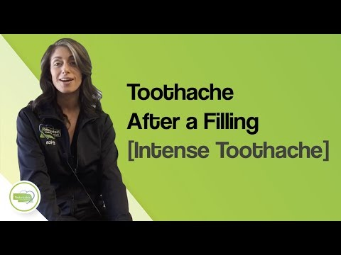Toothache After a Filling [Intense Toothache]