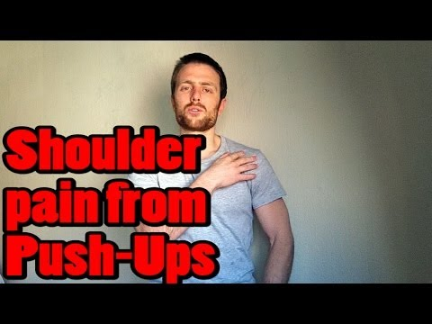 Shoulder Pain from  PushUps (Exercises to Fix It)