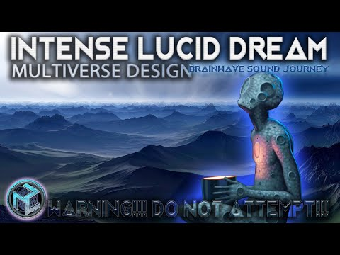 BE AWARE: THE MOST INTENSE MULTIVERSE DREAMSCAPE |Best Binaural Beats Meditation| DREAM | LUCIDITY