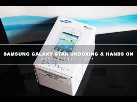 Samsung Galaxy Star GT S5282 Unboxing & Hands on Review