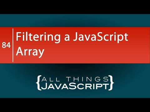 JavaScript Fundamentals: Filtering an Array