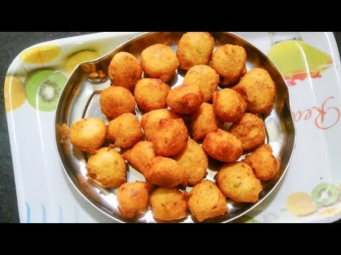 Goli Baje | Mangalore Bajji Recipe  | ಗೋಳಿ ಬಜೆ | Karnataka Kannada Recipes