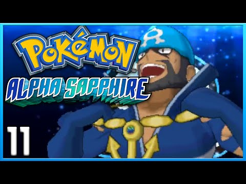Pokemon Alpha Sapphire Part 11 - Mt. Chimney Team Aqua ORAS Gameplay Walkthrough