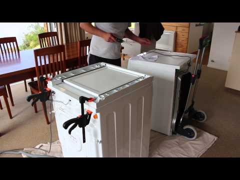 Installing  a Fisher & Paykel Dryer Stacking KIt
