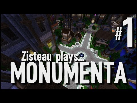 Minecraft - Monumenta CTM MMO #1 - The First Dungeon