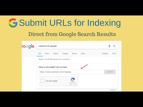 Submit URLs for Indexing Directly from Google Search Results