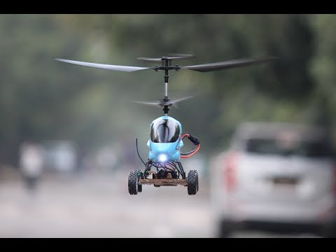 How to make helicopter To Helicopter Car