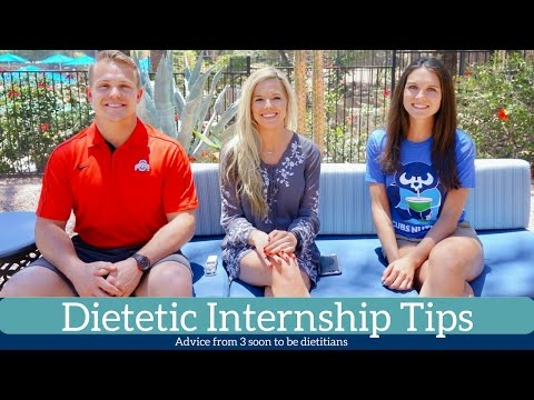 Dietetic Internship Tips || Advice from Seb of ZornFitness & Emily