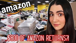 I Went To An Amazon Returns Store