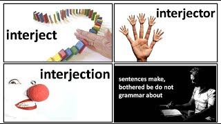 18.7 interject interjection interjector meaning in Hindi by Puneet Bisreria