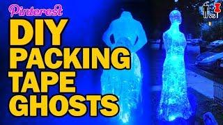 DIY Packing Tape Ghosts - Man Vs Pin