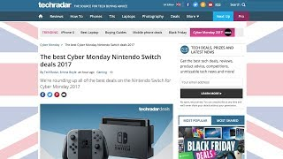 Mario Odyssey Switch bundle: £299 + other Cyber Monday deals! (UK)