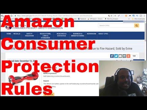 Amazon seller Consumer Protection Liabilities  as a Amazon FBA online arbitrage oaxray