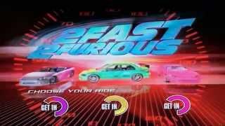 2 Fast 2 Furious 2003 DVD MENU