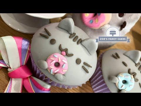 Pusheen Cat cupcakes