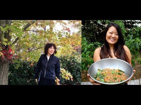 Cooking Korean Food - Eating Asian Food