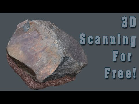 3D scanning for free! - Tutorial