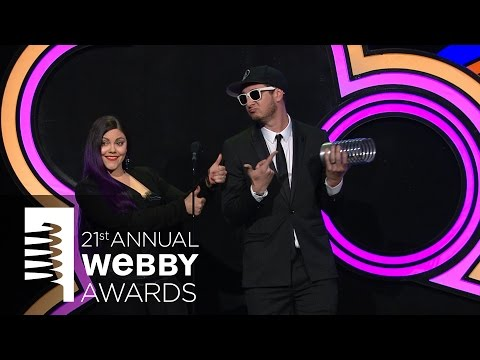 ThreadBanger's 5-Word Speech at the 21st Annual Webby Awards